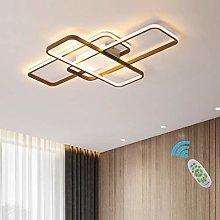 LED Living Room Ceiling Lights Square Modern Flush