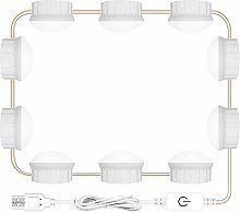 LED Makeup Mirror Light Bulbs USB Make up Lamp