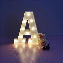 LED Marquee Letter Lights Alphabet Light Up