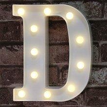 LED Marquee Letter Lights Sign, Light Up Alphabet