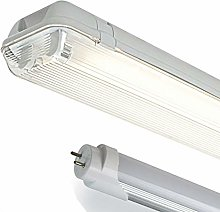 LED ME 4FT Single IP65 Non Corrosive Weatherproof