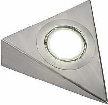 LED ME® Stainless Steel Triangle Under Cabinet