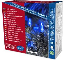 LED Mini Fairy Lights, Outside, Blue, 120 LEDs