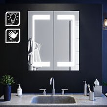 LED Mirror Cabinet with Lights Sensor Switch
