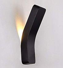 LED Modern Light For Bedroom Black White Wall