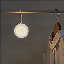 Led Motion Sensor Night Light,Circular Automatic