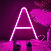 LED Neon Letter Lighting Pink LED Neon Word Sign