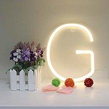 LED Neon Letter Lighting up Words Neon Alphabet