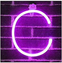 LED Neon Letter Lights, LED Neon Night Light Wall