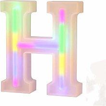 LED Neon Letter Lights, Light Up LED Letters