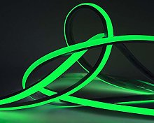 LED Neon Light 15M Green LED Flexible Strip Light