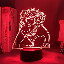 LED Night Light Anime HXH Colorful 3D Illusion