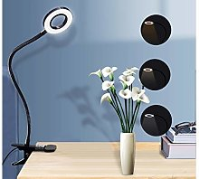 Led Night Light Clip Type Desk Lamp Flexible