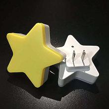 LED night light, new five-branch star LED light