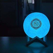 LED Night Light Quran Bluetooth Speaker Bedroom
