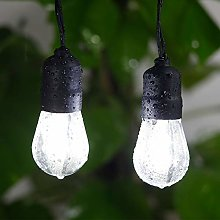 Led Outdoor String Lights, 25 Day White