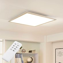 LED Panel 'Lysander' dimmable in Silver
