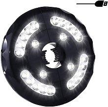LED Patio Parasol Light, USB Rechargeable 24 LEDs