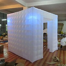 LED Photo Booth Cube Tent Inflatable Studio