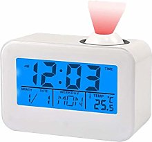 LED Projector Alarm Clock. Screen Multifunctional