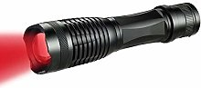LED Red Light Torch, Red Tactical