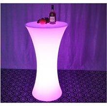 LED Round Bar Table