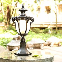 LED Sconce Outdoor Post Lights - Aluminum Post Cap