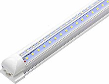 LED Shop Light 2Ft,800LM 2700K~6500K, Double Sided