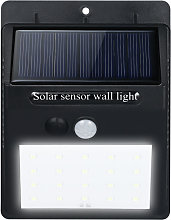 LED Solar Powerd PIR Motion Sensor Wall Dim Light
