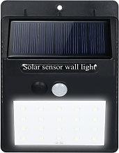 LED Solar Powered PIR Motion Sensor Wall Light 20