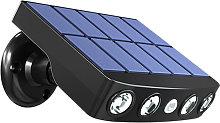 LED Solar Powered Wall Light Rotatable Waterproof