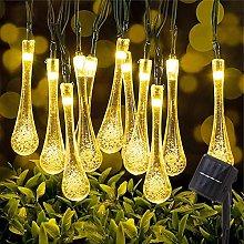 LED Solar String Lights, 50LED 9.5M/31FT Outdoor