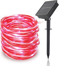LED solar tube light, outdoor rope light for