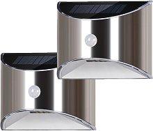 LED Solar Wall Lamp for Garden, Terrace, Alley,