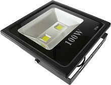 LED spot light IP66 100W 9000LM with adjustable