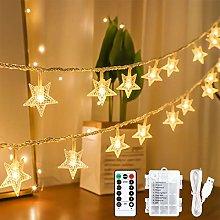 Led Star Fairy Lights, 15M 100 LED String Lights