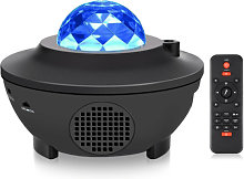LED Star Projection Lamp Sound Activated Music