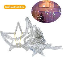 Led Star String Lights Home Use Bedroom Window