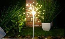 LED Starburst Firework Stake Lights: 120