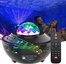 LED Starry Projector Light, Mood Lamp with Remote