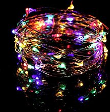 LED String Fairy Lights On Clear Cable, Ideal for