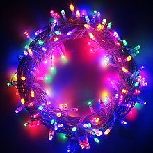 LED String Fairy Lights On Clear Cable with 8