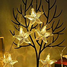 Led String Light Ocean Themed Fairy Starfish Sea
