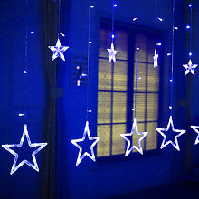 Led String Lights Home Bedroom Window Curtain