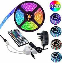 LED Strip Light 16.4ft(5m) RGB SMD 3528 LED Rope