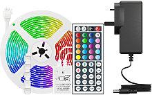 LED Strip Lights 16.4ft. RGB 150 LEDs Lights with