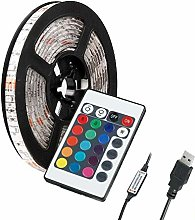 LED Strip Lights 2M/78.74in 5V 5050 RGB Dimmable
