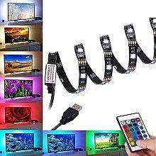 LED Strips Lights 2M, BrizLabs USB TV Backlight