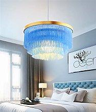 LED Tassel Ceiling Chandeliers Nordic Decorative