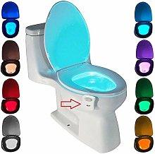 LED Toilet Lamp, ZSZT Motion Sensor Toilet Night